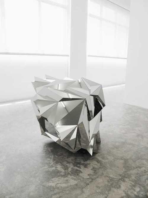 #geometric #art #glass #mirror @code + form