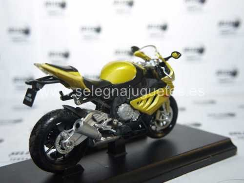 Vendo Bmw s 1000 rr escala 1/18 welly moto metal miniatura > modelo - model - modèle - modell: bmw s 1000 rr fabricante - manufacturer - fabricant - hersteller: welly.  escala - scala - echelle - mabstab...