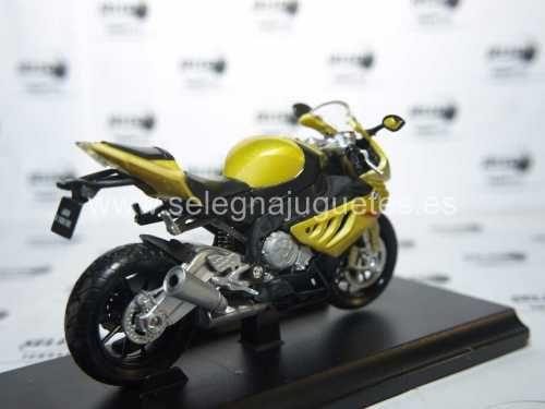 Vendo Bmw s 1000 rr escala 1/18 welly moto metal miniatura > modelo - model - modèle - modell: bmw s 1000 rr fabricante - manufacturer - fabricant - hersteller: welly.  escala - scala - echelle - mabstab...