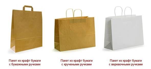 Бумажные пакеты и коробки в Украине