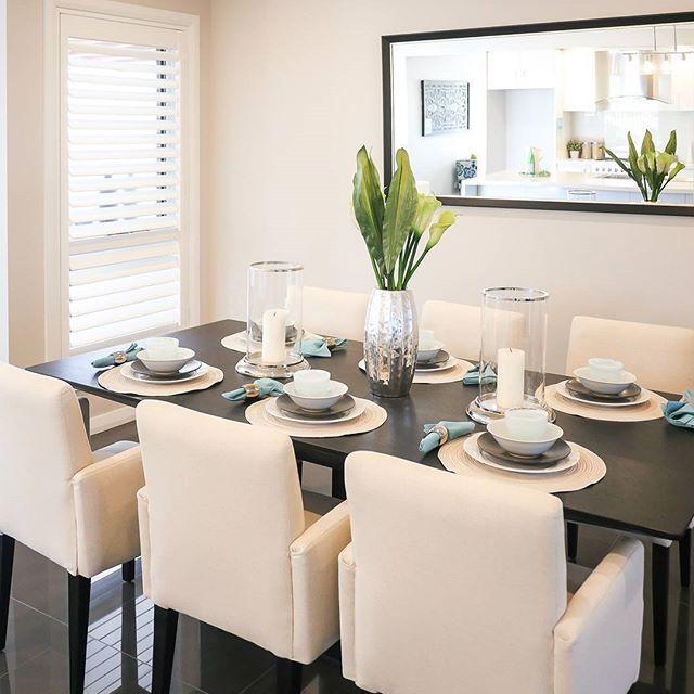 A Bellriver dining room.