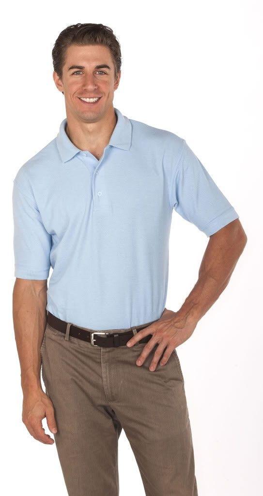 Big Mens Reebok Blended Superior Pique Polo by Reebok™