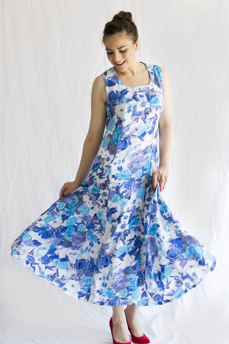 A dress for my mom – Burda Style 6806