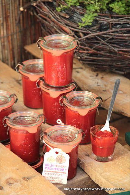 MojeTworyPrzetwory: Koncentrat pomidorowy / Przecier pomidorowy