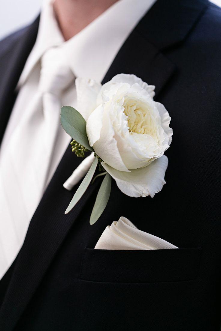 garden rose boutonniere - Garden Rose Boutonniere