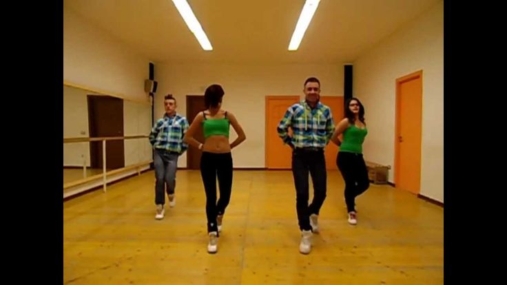 "Joey&Rina "" Bingo Rumeno 2 ""   Impara i Passi   Balli di Gruppo 2014 Lin..."