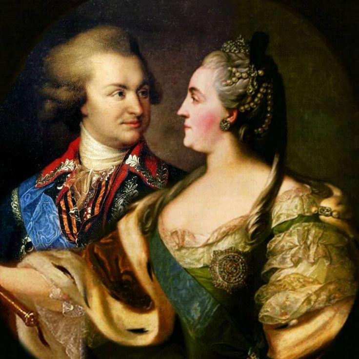 Знаменитости.Екатерина II и ее сексуальная жизнь..   Императрица Екатерина II и Григорий Потемкин