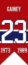 Bob Gainey : Déjà décrit comme le joueur le plus complet au monde sur le plan technique par le légendaire entraîneur soviétique Anatoli Tarasov et membre du Temple de la renommée du hockey depuis 1992, Bob Gainey a rejoint la famille des Canadiens en 2003 à titre de directeur général. Il s'est retrouvé derrière le banc des Canadiens à deux reprises, soit lors des saisons 2005-06 et 2008-09. Le 23 février 2008, Gainey a vu son célèbre dossard numéro 23 être hissé dans les hauteurs du Centre…