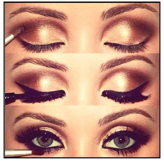 A post by @glamour_heaven Ana Paula Roza bronze smokey eyes #makeup #beauty #cosmetics