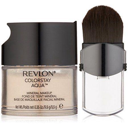 Revlon Color Stay Aqua Mineral Makeup, Light Medium, 0.35 Ounce