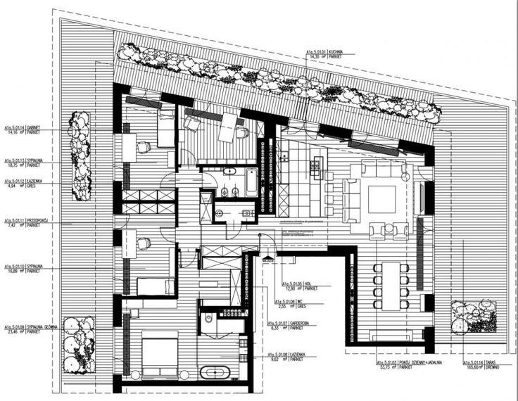 Apartment Warsaw centre luxurious white sofa couch lamp spacious timeless plan scheme