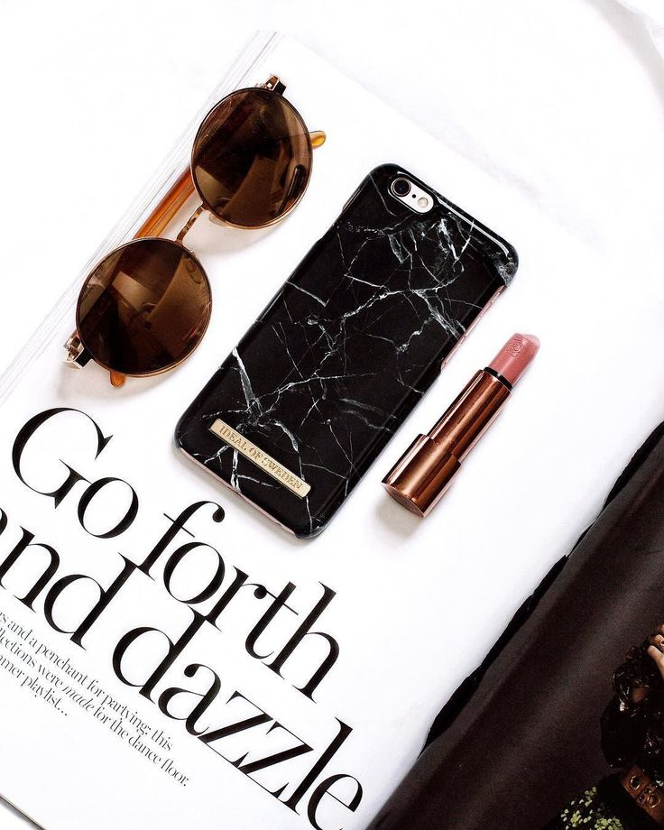 Fashion Case Black Marble by @ katherine_mc - Fashion Case by iDeal of Sweden #marble #blackmarble #idealofsweden #rosé #details #accessories #fashion #iphone