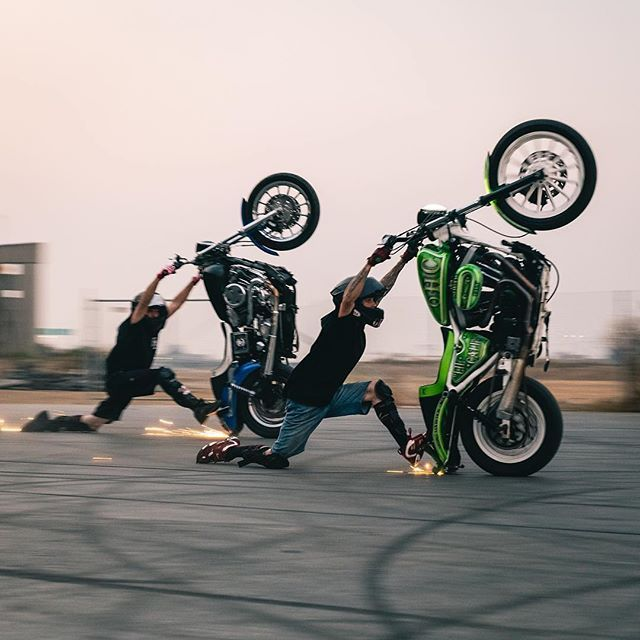 Cse Jasonpullenstunts Double Knee Drag With Green Machine650