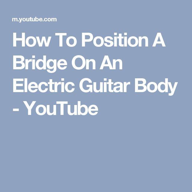 53 best guitar setup images on Pinterest   Guitar building, Guitars ...
