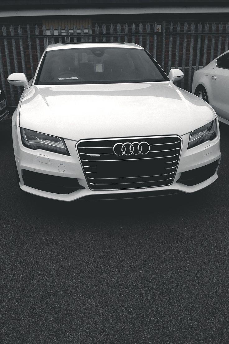 Audi A7-tight white