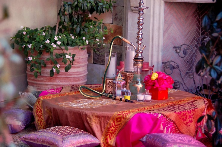 Moroccan Baby Shower Table Setting Party Time