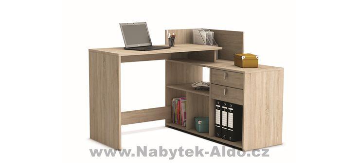 Rohový psací stůl Vista 357203