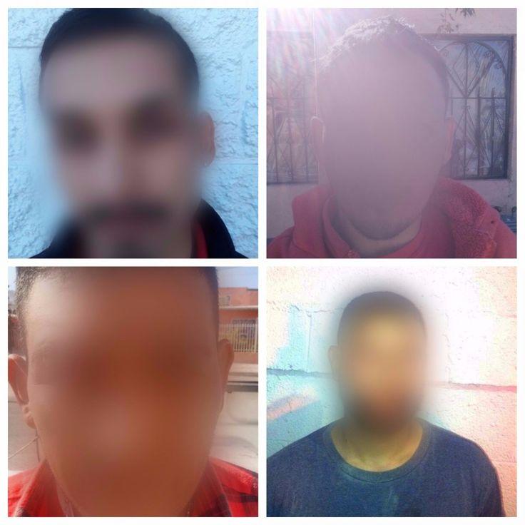 Policías de Juárez detienen a 4 sujetos por violencia familiar; uno amenazó a su ex con matarala si no volvía con él | El Puntero