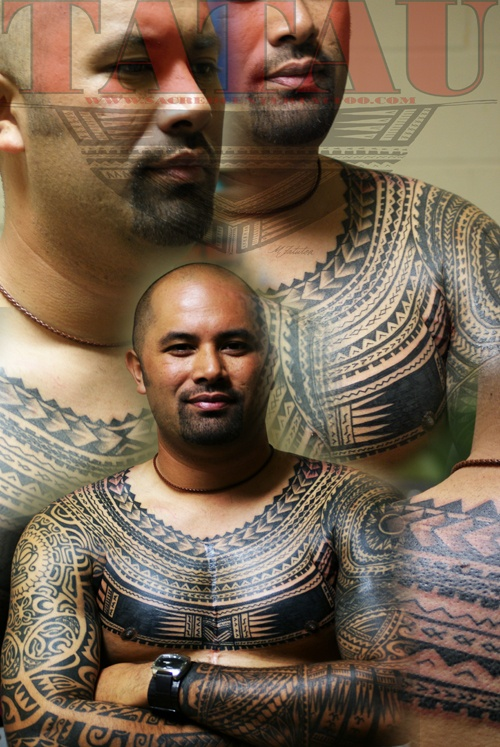 Body Art World Tattoos Maori Tattoo Art And Traditional: Upper Body...Sacred Center Tattoo