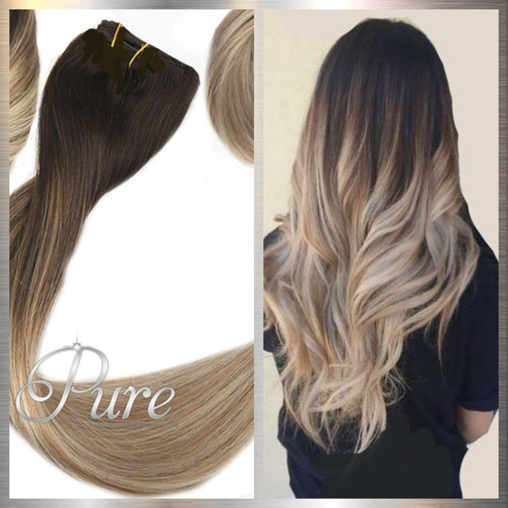 2/22/16 – WEFT / WEAVE – DARK BROWN OMBRE / BALAYA…