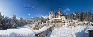 Imagini pentru imagini de iarna castelul peles