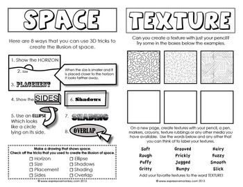 26 Best Art Lessons In Texture Images