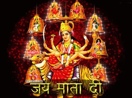 Good Morning Wishes with Jai Mata Di Pictures - Message, Greetings, Status Image, Wallpapers, Photos, pictures Download