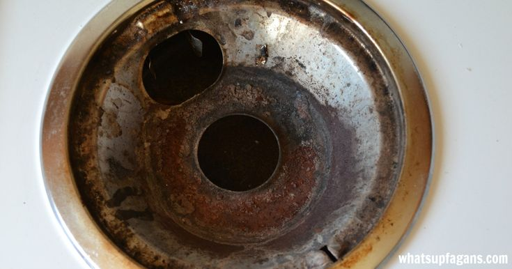 How to Clean Stove Drip Pans - A Pinterest Experiment