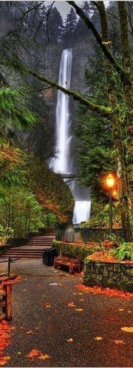 Multnomal Falls, Oregon, USA Version Voyages, www.versionvoyages.fr
