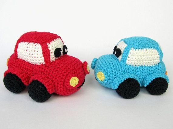 Happy Car Amigurumi Crochet Pattern / PDF e-Book / Soft Toy