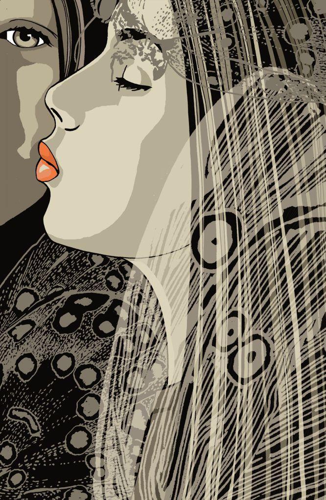 Ilustraciones de 'La biblioteca secreta' de Haruki Murakami: Kat Menschik