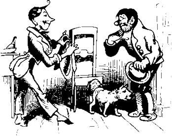 illustrations de wilhelm busch | ... und sein kluger Hund von Wilhelm Busch - Text im Projekt Gutenberg