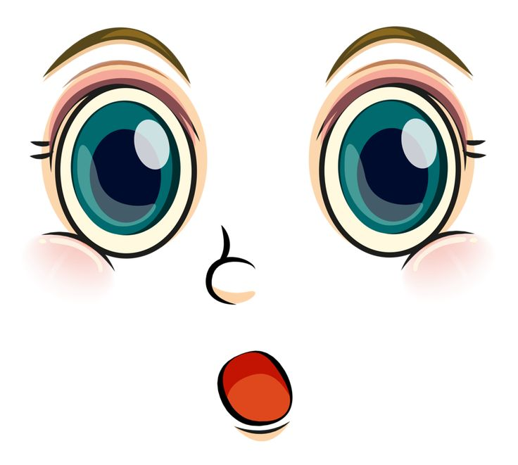 Красивые глазки картинки для детей