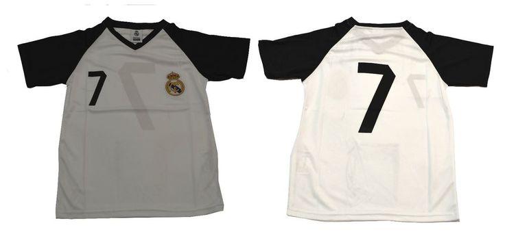 Youth Soccer Jersey Real Madrid  Cristiano Ronaldo Number 7 boy kids #Rhinox