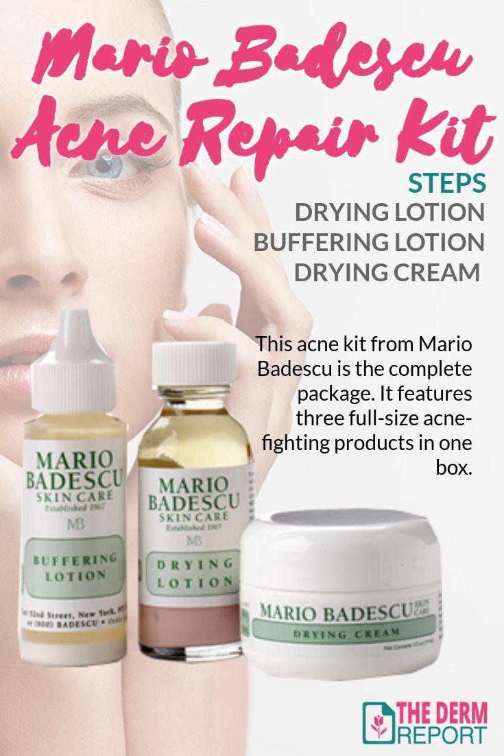 Mario Badescu Acne Repair Kit Review Acne Treatment Skin