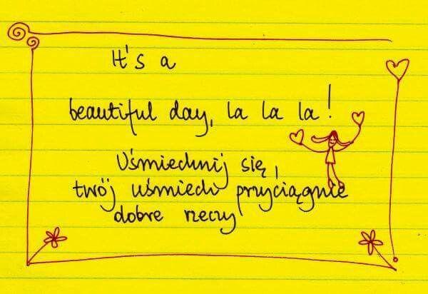 Beata Pawlikowska #smile #uśmiech #inspiracja #beautiful #day  http://www.mydwoje.pl
