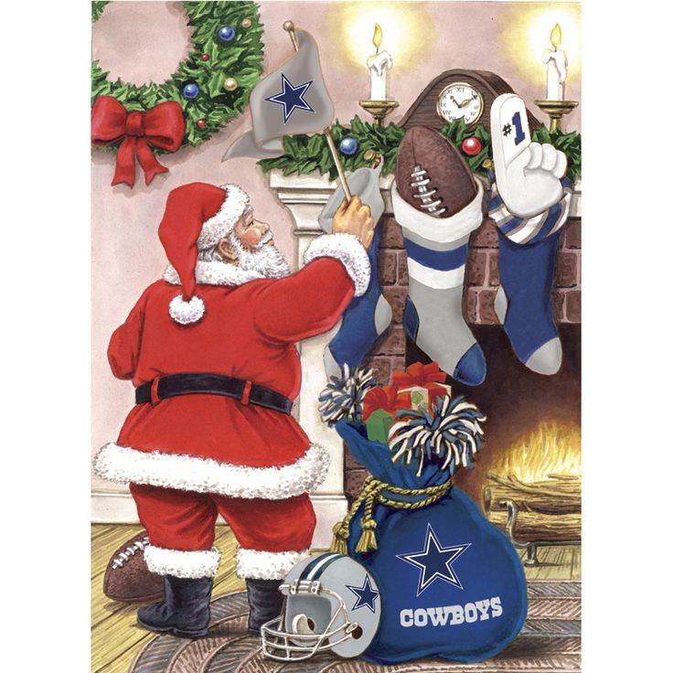 Dallas Cowboys Christmas & Holiday Cards - The Danbury Mint