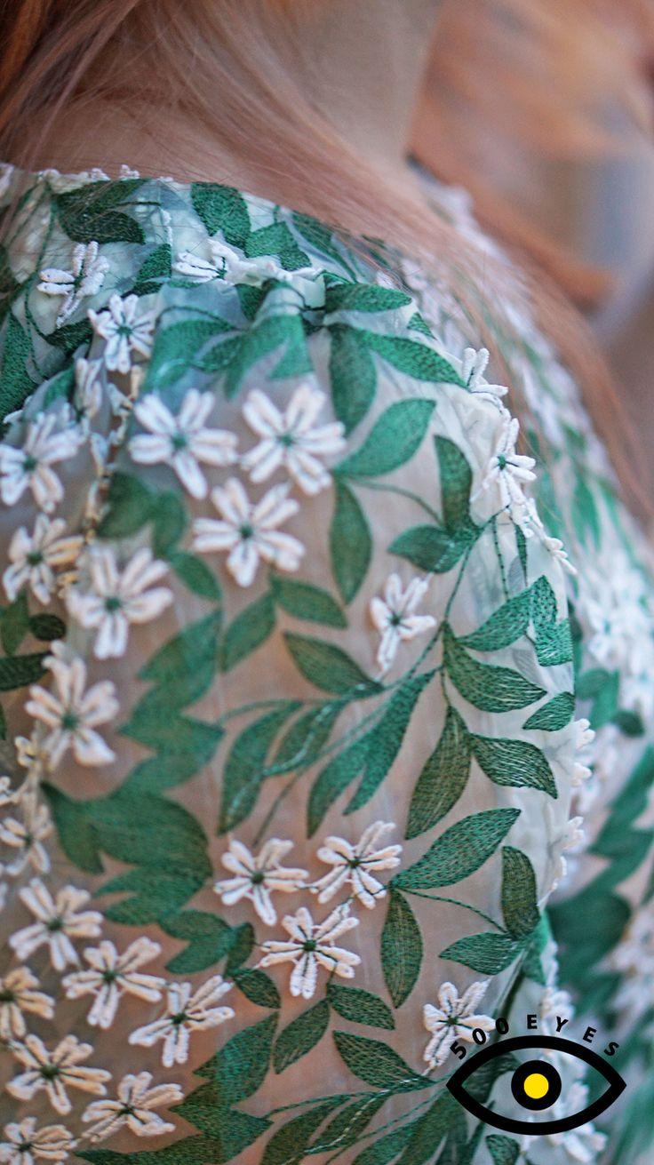 www.500eyes.com #500eyes #Green #blouse