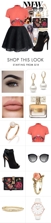 """NYFW #3"" by panenguin ❤ liked on Polyvore featuring Givenchy, Apt. 9, Dolce&Gabbana, Vintage, David Yurman, Abbott Lyon and NYFW"