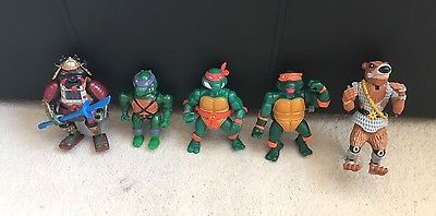 Vintage teenage #mutant ninja #turtles action #figure bundle- 90's- tmnt- playmat,  View more on the LINK: http://www.zeppy.io/product/gb/2/322382799273/