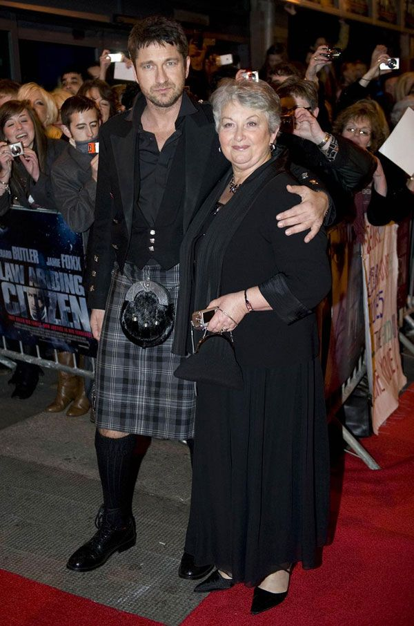 Gerry and his Mom. LOVE a man who loves his Mom. End of Story.