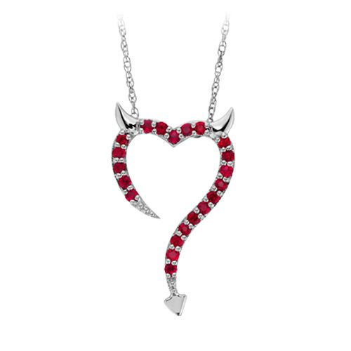 fred meyer jewelers created ruby pendant