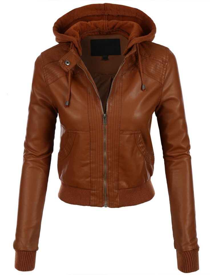 113 best Brown & Tan Leather Jackets images on Pinterest | Brown ...