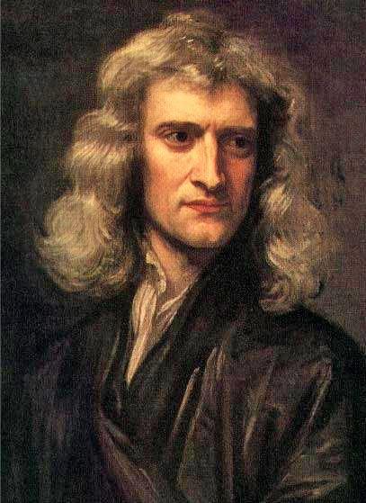 Isaac Newton (1643-1727) was een Engelsman (ook wel natuurkundige, wiskundige, astronoom, natuurfilosoof, alchemist, officieel muntmeester en theoloog) die bekend staat om het appelverhaal. Hij lag onder een boom en er viel een appel uit. Waarom valt de appel wel uit de boom, maar valt de maan niet op de aarde? Newton ontdekte dat er rond de aarde ook zwaartekracht bestaat. Hiermee had hij een natuurwet opgesteld. Dat is een algemeen geldende regel die in de natuur steeds terugkomt.