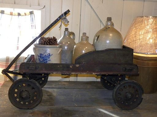 17 Best Images About Antique Toy Wagons Amp Sleighs