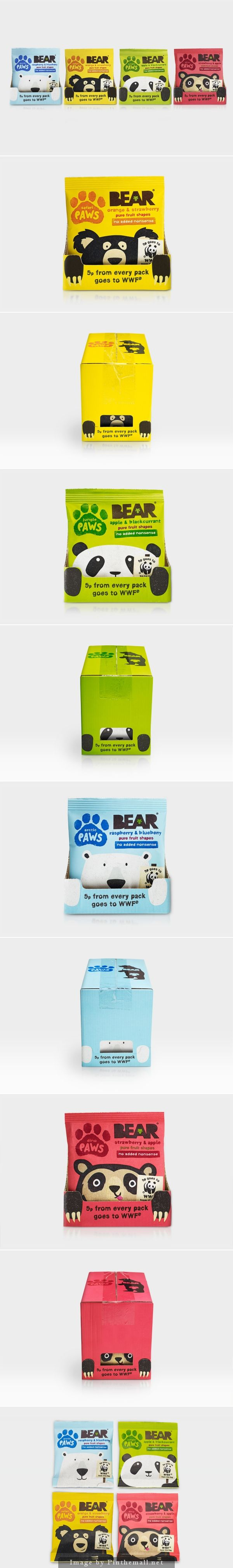 Bear Paws up close and cuddly packaging and for a good cause too curated by Packaging Diva PD