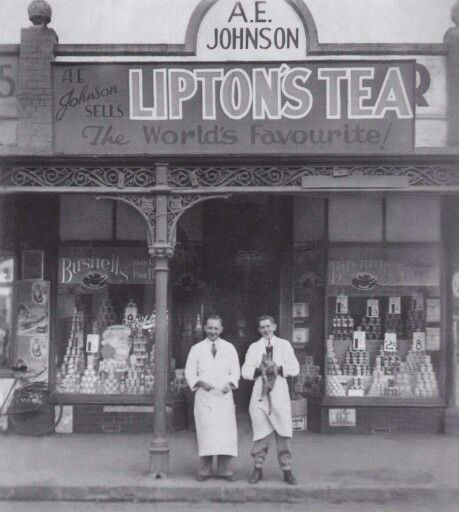 Old  shops  Melbourne. Footscray 1940