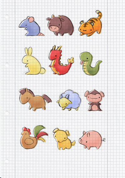 Chinese Zodiac by cinnamel.deviantart.com on @deviantART