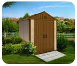 Kinying plastic outdoor storage shedhttp://www.kinyinggroup.com/plastic-sheds/outdoor-storage-shed.html