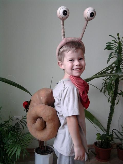 Slimáčik Máčik, Karnevalové masky